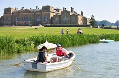 Hire a rowing boat on Holkham Lake - each boat can hold up to five people so it's perfect for a family day out! Click the photo for more details. Wells Next The Sea, Boat Hire, Norfolk Coast, Family Days Out, Promised Land, Lost Soul, Rowing, Summer Days, Kayaking