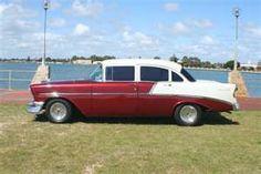 56 Chevy BelAir 4 door