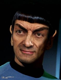 If Mr. Bean was a Vulcan. I have laughed every time I've thought of this today.