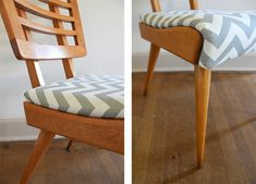 refurbishing a chair. Material to refurbish granny's chair