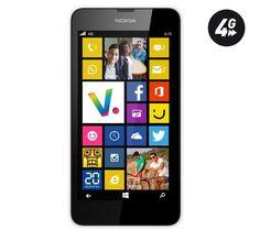 Soldes NOKIA Lumia 635 - blanc - 8 Go - 4G - Smartphone prix Soldes Smartphone Pixmania 129.00 € TTC au lieu de 149 €