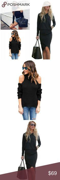 M/L Bundle Size medium/large Bundle includes:  Large choker bodysuit. Medium cold shoulder turtleneck. Large hoodie skirt set. 4 pieces for an awesome price! NWOT. Price is firm. Other