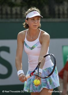 Patricia Maria Tig at Roland Garros French Open Wearing Tonic Active collection. Tennis Dress, Tennis Clothes, Professional Tennis Players, Caroline Wozniacki, French Open, Lifestyle Clothing, Wimbledon, Dress Outfits, Dresses