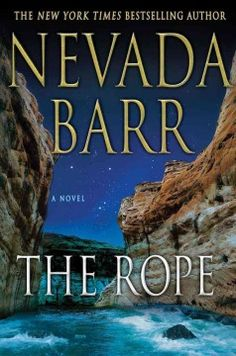 The rope / Nevada Barr.  Excellent! Lake Powell setting, fabulous rocks as traps.