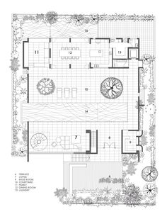 Galer A De La Casa Patio Formwerkz Architects 12 Courtyard Housesite Plansarchitecture