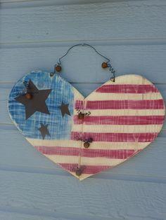 Distressed & Rustic Americana Patriotic by SoPurdyCreations, $25.00