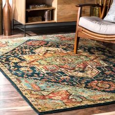Shop for nuLOOM Green Traditional Vintage Tribal Floret Medallion Area Rug. Get free delivery at Overstock - Your Online Home Decor Store! Get in rewards with Club O! Orange Area Rug, Navy Blue Area Rug, Floral Area Rugs, Beige Area Rugs, Area Rugs For Sale, Machine Made Rugs, Rugs Usa, Cool Rugs, Online Home Decor Stores