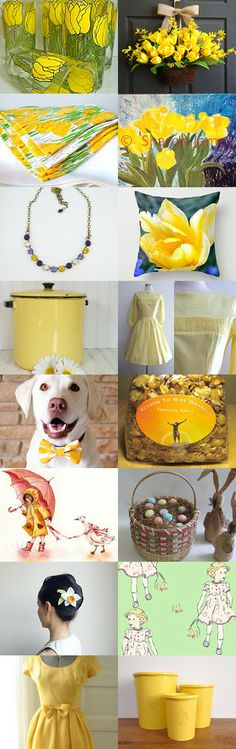 Welcome spring! by Linda Krewduk on Etsy--Pinned with TreasuryPin.com