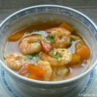 soupe crevette thaï - companion