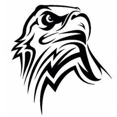 marquesan tattoos behind the ear Tribal Tattoos, Tribal Eagle Tattoo, Eagle Head Tattoo, Tribal Drawings, Eagle Tattoos, Tribal Art, Bear Tattoos, Eagle Drawing, Image Deco