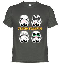 Camiseta storm tropers - kiss
