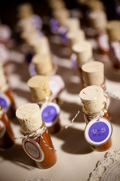 50 Fab Favours for your Wedding Day! good ideas in here.