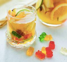 Drunken gummy bear sangria