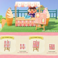Qr Codes, Menu Design, Future Islands, Animal Crossing Game, Ice Cream, All About Animals, Island Design, Border Design, Website