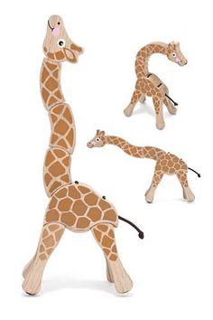 Giraffe Grasping Toy | Melissa and Doug Toys $9.99
