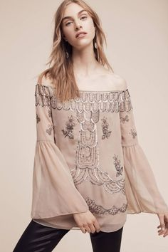 e6e79c68fc0e0 Ranna Gill Seyne Off-The-Shoulder Top