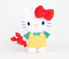 "Hello Kitty Reversible 8"" Plush: Lobster"
