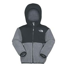 The North Face Toddler Boys' Denali Hoodie grey/black/2t/$69. Charlie will definitely be getting one.