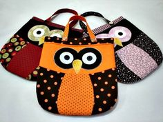 Owl Bags (instructinos in Spanish)
