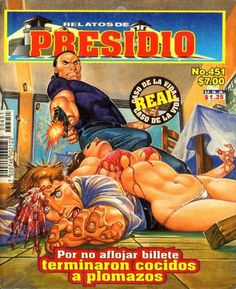 Mexican horror magazines Chinga suuu madre