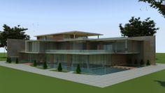 Xazar TV extension Baku 2013, Ennac Architects- Serkan Ennaç