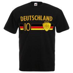 Fußball WM T-Shirt Fan Artikel Nummer 10 - Weltmeisterschaft 2018 - Länder  Trikot Jersey 24d11bf79