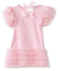 Pretty in Pink Tiered Mesh Dress | Shayzee