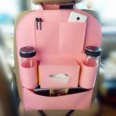 Bling Crown Car Accessories Set -Neck Pillow Visor Organizor Tissue box Gear shift braker cover Great quality PU leather and bling decorations.