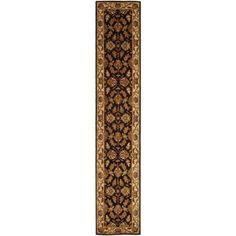 Safavieh Heritage Valery Hand Tufted Wool Runner Rug, Black