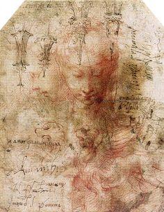 Parmigianino-studio per Fontanellato,1520 circa,collezione privata