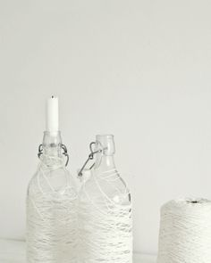 ANNALEENAS HEM: DIY THREAD AND BOTTLES