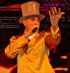 Netinho no seu show em Salvador, no Barra Hall, no Congresso Mundial de Mastologia, em 12/10/2012.
