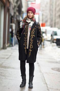 El+mejor+streetstyle+(invernal)+de+la+#NYFW
