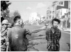 Even as a kid, something seemed horribly wrong about my country's war in Vietnam.  This picture brought those doubts to the fore and outraged enough Americans so that the debate turned to how to end the conflict.
