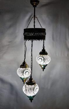 Kronleuchter - Kronleuchter Pendelleuchte Deckenlampe Hängelampe - ein Designerstück von Mosabox bei DaWanda