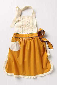 Cute apron, vintage. <3