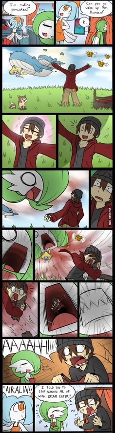 Gardevoir used dream eater!