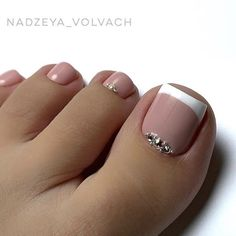VK is the largest European social network with more than 100 million active users. French Toe Nails, French Pedicure, Manicure E Pedicure, Mani Pedi, Gel Toe Nails, Gel Toes, Coffin Nails, Cute Acrylic Nail Designs, Toe Nail Designs