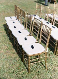 sunglasses are a nice treat for guests at outdoor #wedding ceremonies. #nordstromweddings