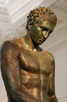 Athlete found off the shore of Croatia, National Museum Zagreb, Croatia