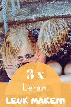 Hoe kan je leren leuk maken voor je kind? Met deze 3 tips is leren leuker! Inspiration, Blog, Biblical Inspiration, Blogging, Inspirational, Inhalation
