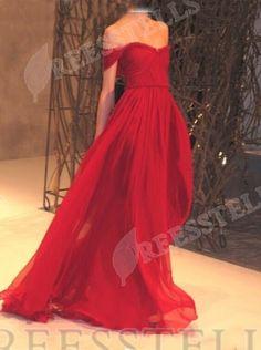 Elegant A-Line Off-the-Shoulder Floor Length Burgundy Prom/Evening Dress with Ruched
