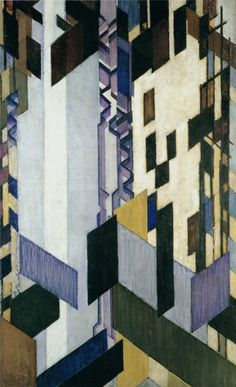 Frantisek Kupka, Vertical and Diagonal Planes, 1913-23. František Kupka was a Czech painter and graphic artist. He was a pioneer and co-founder of the early phases of the abstract art movement and Orphic cubism