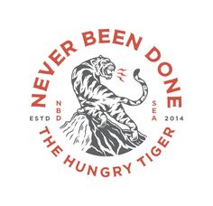 No Bad Days - Illustration — Buttery Studio Branding Design, Logo Design, Graphic Design, Logos Vintage, Retro Logos, Vintage Branding, Tiger Illustration, Eagle Design, No Bad Days
