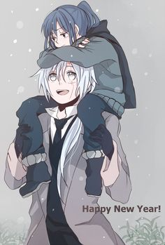 D.Gray-man, , Allen Walker, , Yuu Kanda, , adult allen, , little yu