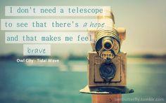 Owl City ~ Tidal Wave
