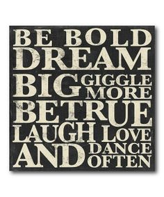 ❤Be bold!❤