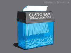 Commissioned designs for www.despair.com by Glenn Jones, via Behance