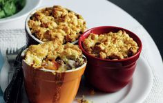 Sweet potato, celeriac, carrots, parsnip and garlic, these winter crumbles have everything you need to scoff seasonally.