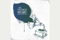 Retro Musical Illustration by Vecster on Creative Market